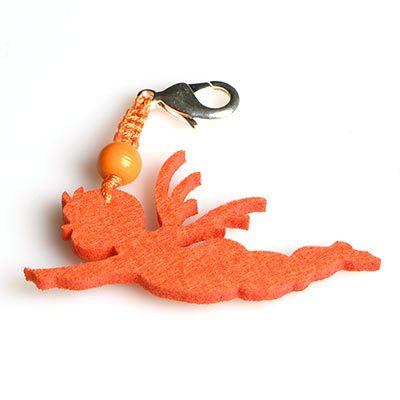 Linzer Engerl Schlüsselanhänger aus Filz
