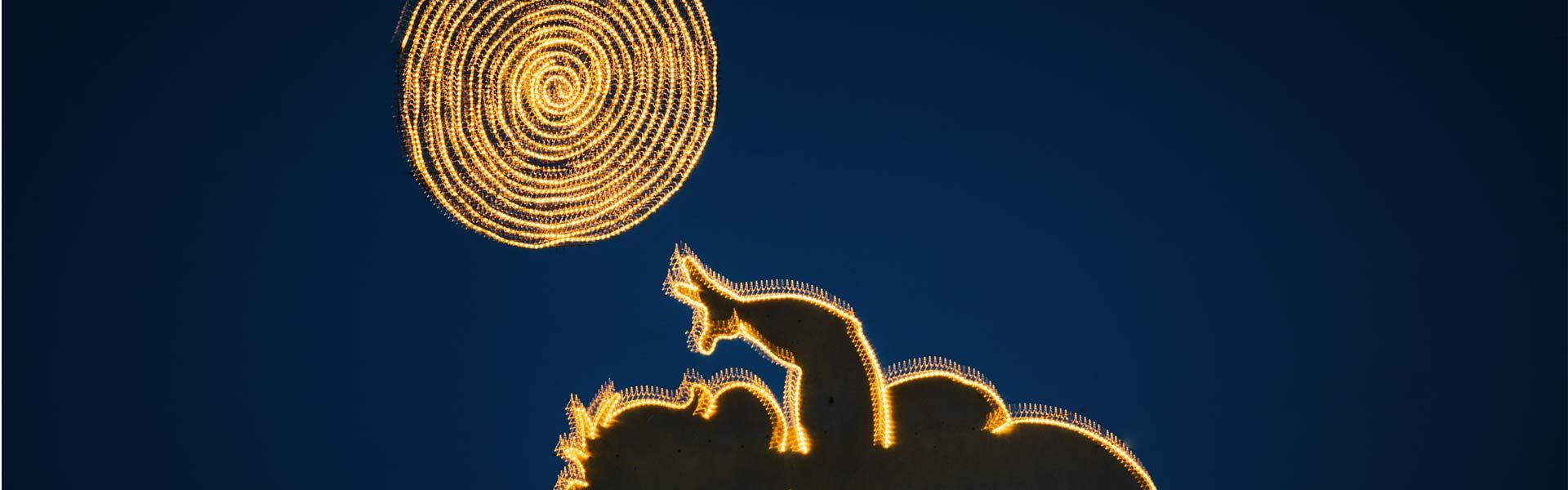 Linzer Engerl Weihnachtsbeleuchtung (c)M.Pechacker